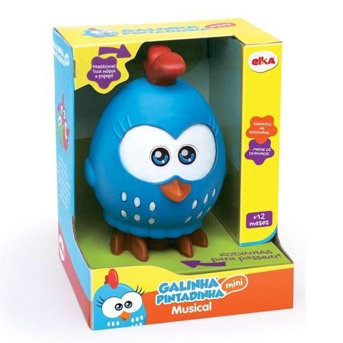 Brinquedo Infantil Galinha Pintadinha Mini Musical C/ Rodinhas