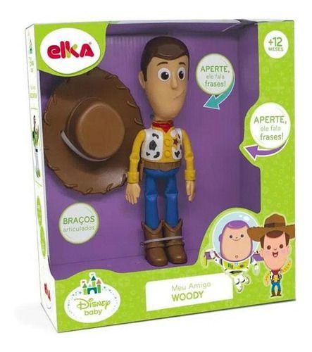Boneco Infantil Meu Amigo Woody ELKA 1134