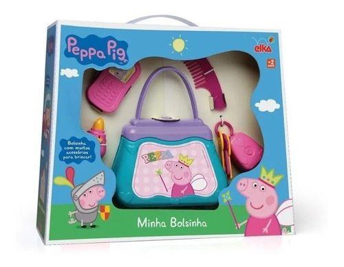Bolsa Infantil Divertida Peppa Pig Cod 937 Elka
