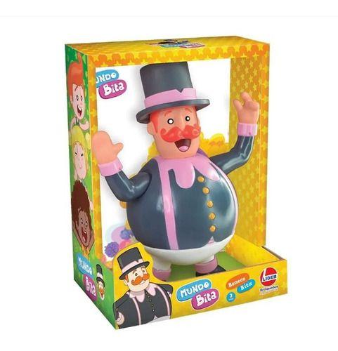 Boneco Infantil Mundo Bita em Vinil 19cm Lider Brinquedos