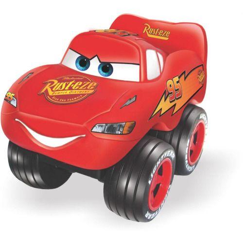 Carrinho Infantil Fofo Móvel Carros McQueen Líder Brinquedos