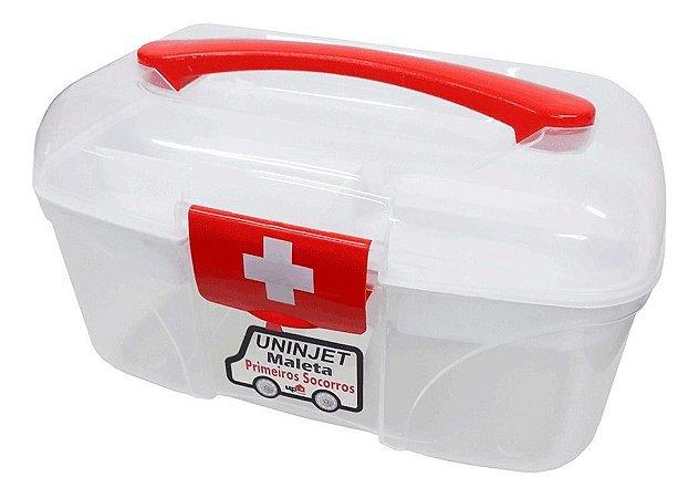 Caixa Maleta Primeiros Socorros Reforçada 0574 Uninjet