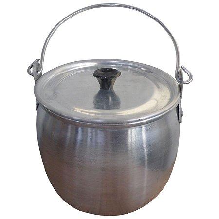 Caldeirão Em Alumínio Bojudo Reforçado 1,2 Litros AAL