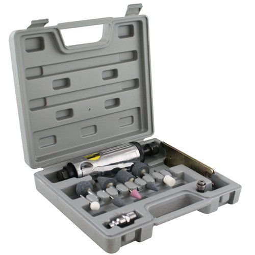 Mini Retífica Pneumática Esmeril Com Acessórios + Maleta 8NJ EDA