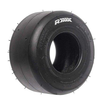 Pneu Dianteiro p/ Kart 10x4.60-5 BRANCO RX Tires