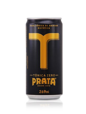 Água Tônica Prata Zero 269 ml - Lata