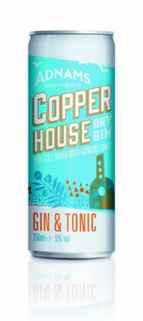 GIN & TONIC ADNAMS COOPER HOUSE  - LATA - 250ml