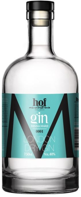 GIN MINNA MARIE - LONDON DRY GIN CRISTAL 700ML