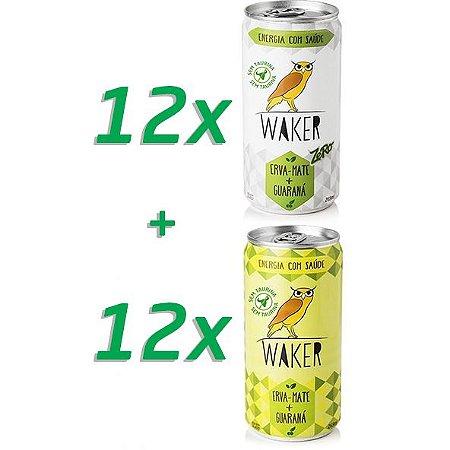 Combo: Waker Tradicional 12 unidades + Waker Zero 12 unidades