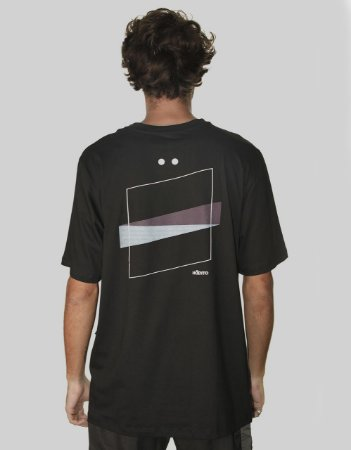 Camiseta Hábito Quadro Preta