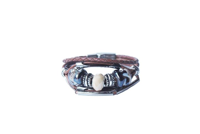 Pulseira Leather trinkets