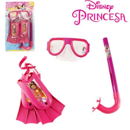 Kit Mergulho Princesa Disney