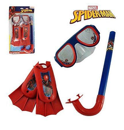 Kit Mergulho Homem Aranha Marvel