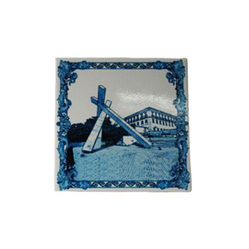 Azulejo Monumento Cruz Caída
