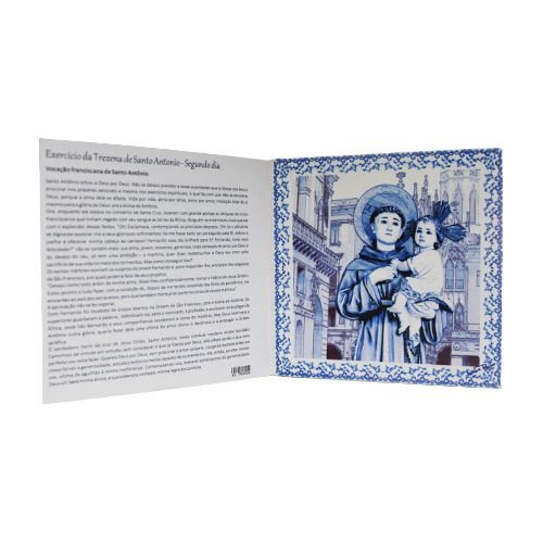 Azulejo Trezena de Santo Antônio - Segundo Dia