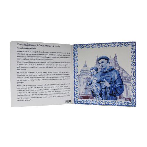 Azulejo Trezena de Santo Antônio - Sexto Dia