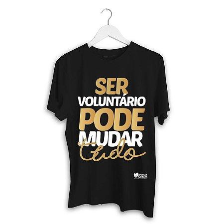 Camisa - Ser voluntário pode mudar tudo