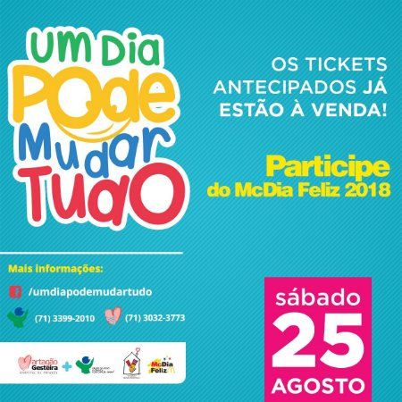 Ticket McDia Feliz 2018