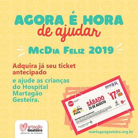 Ticket McDia Feliz 2019