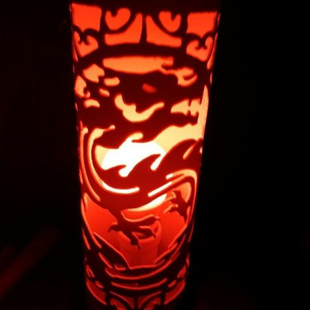 Luminária em PVC - Dragão