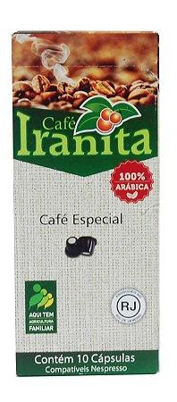 Café Iranita em cápsula