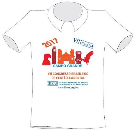 Camiseta VIII Congresso Brasileiro de Gestão Ambiental - Tamanho P