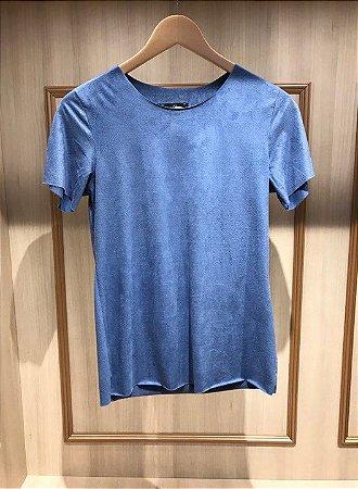 T-Shirt Suéde Básica
