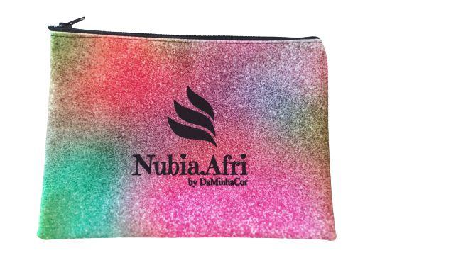 Necessaire Carteira para Maquiagem NubiaAfri