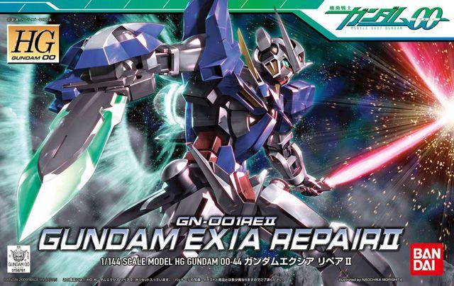 GUNDAM 00 EXIA REPAIR II HG GN-001REII 1/144