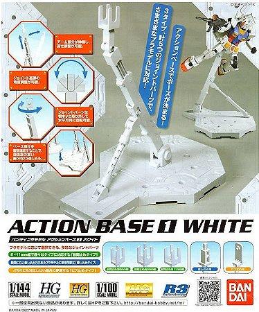 ACTION BASE 01 WHITE para 1/144 e 1/100