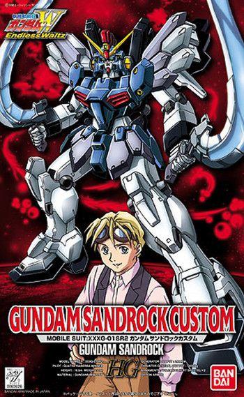 Gundam Sandrock Custom HG 1/100 - Gundam Wing Endless Waltz