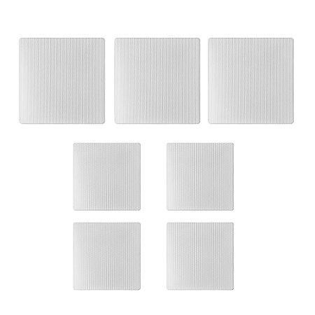 Kit de Arandelas 7.0 AAT Para Home Theater - 3 Arandelas NQ6-A100 + 4 NQ6-M100