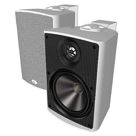 Caixa Acústica Absolute AQ5 Indoor/Outdoor 140 Watts Branca Par