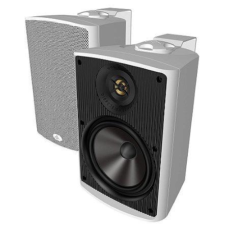 Caixa Acústica Absolute AQ4 Indoor/Outdoor 100 Watts Branca Par