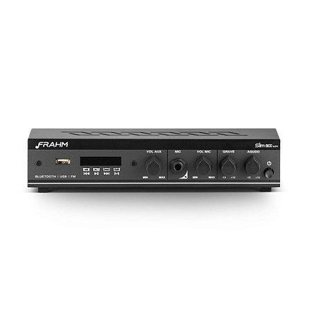 Amplificador Frahm Slim 800 APP Bluetooth USB FM