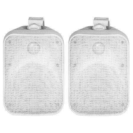 Caixa Acústica AAT OS120-IP56 À Prova D' Água Branca Par