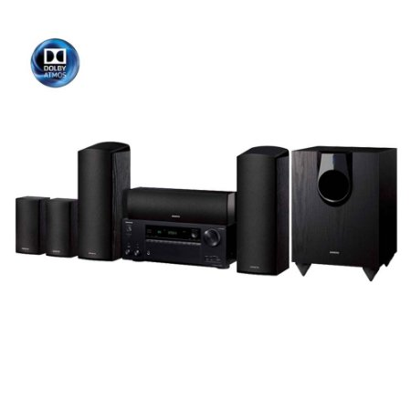 Kit Home Theater 5.1.2 Onkyo HT-S7800 Dolby Atmos DTS:X 110v