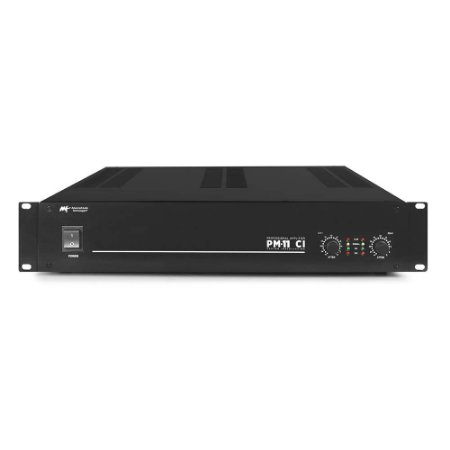 Amplificador AAT PM-11 CI - 2 Canais 400W RMS por canal