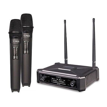 Microfone Sem Fio Duplo Tag Sound Tagima TMJ-500 UHF