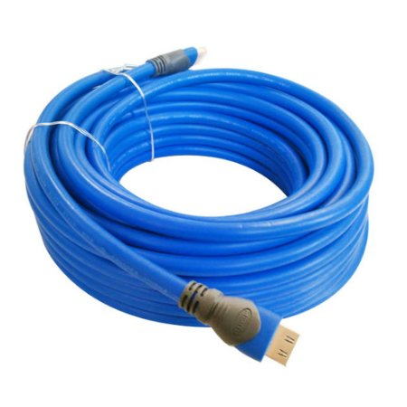 Cabo HDMI 20M Discabos AVIS High Speed com Ethernet