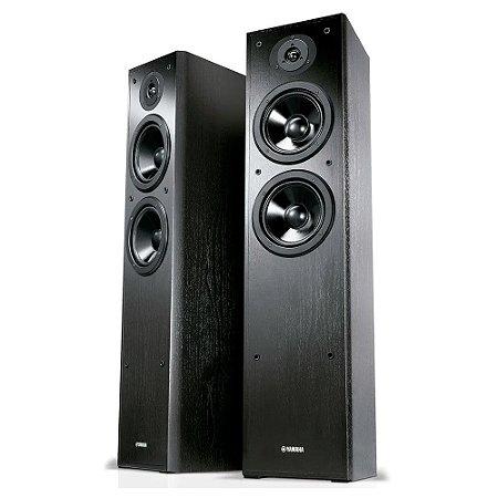 Caixa Acústica Yamaha NS-F51 Torre Para Home Theater Preta Par