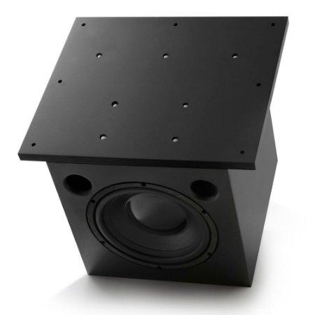"""Subwoofer Ativo AAT Cube Invisible 10"""" 250W Rms Preto"""