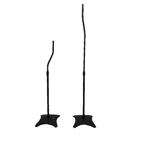 Pedestal para Caixas Acústicas com Regulagem de Altura ELG SR11 Preto Par