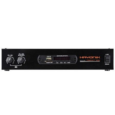 Amplificador Hayonik Compact 1000 80W RMS