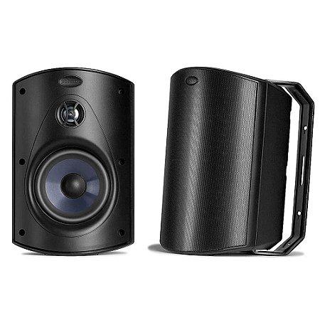 Caixa Acústica Polk Audio Atrium 5 Outdoor Preta Par