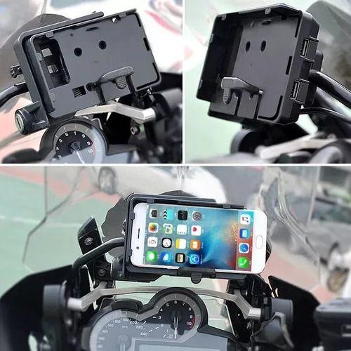 Suporte Adaptador para Celular e GPS.