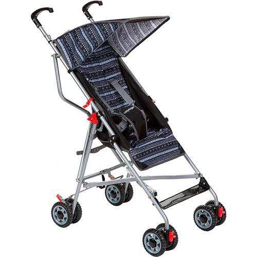 Carrinho de Bebê Passeio Voyage Umbrella Slim Preto - 2 Posições