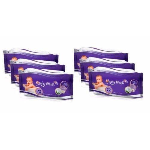 Kit 6 Lenços Umedecidos Baby Bath - 432 Unidades