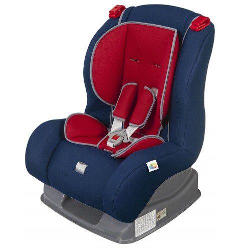 Cadeira para auto - Atlantis - Azul Marinho / Vermelho - Tutti Baby