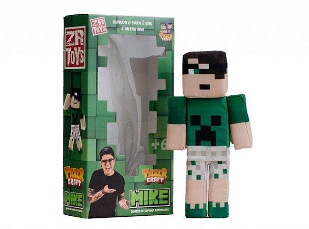Boneco Tazercraft Mike - Youtubers - ZR Toys